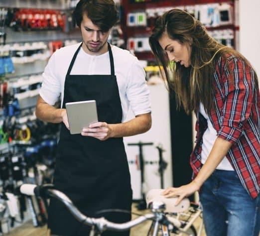 Verleihverwaltung für Fahrradhändler